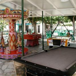 Games area Camping Playa y Fiesta Costa Dorada