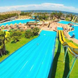 Aquopolis Parc d'atraccions d' aigua La Pineda Salou Costa Daurada