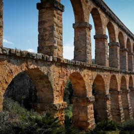 Pont del Diable arquitectura romana en Tarragona Costa Daurada Turisme
