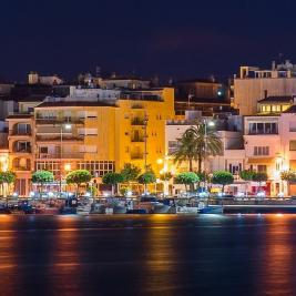 Cambrils at night Costa Dorada