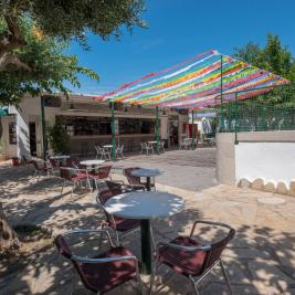 Bar-Restaurant Terrace Camping Playa y Fiesta Costa Dorada