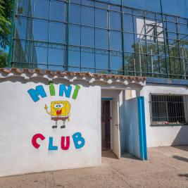 Entrada Miniclub Camping Playa y Fiesta Costa Daurada